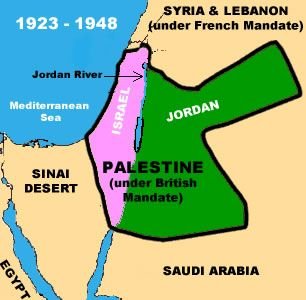 Palestine 1918 to 1948 History Learning Site