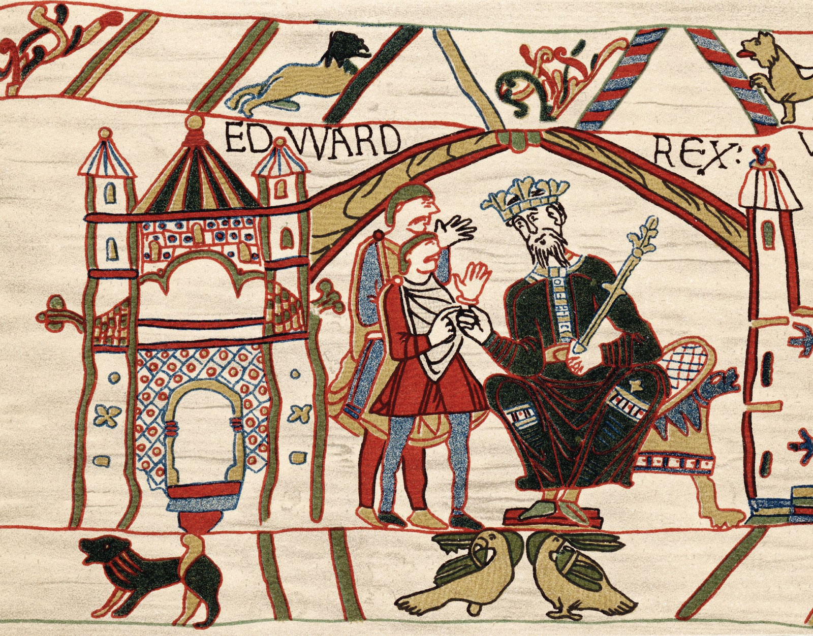 Edward the Confessor and Harold Godwinson at Winchester