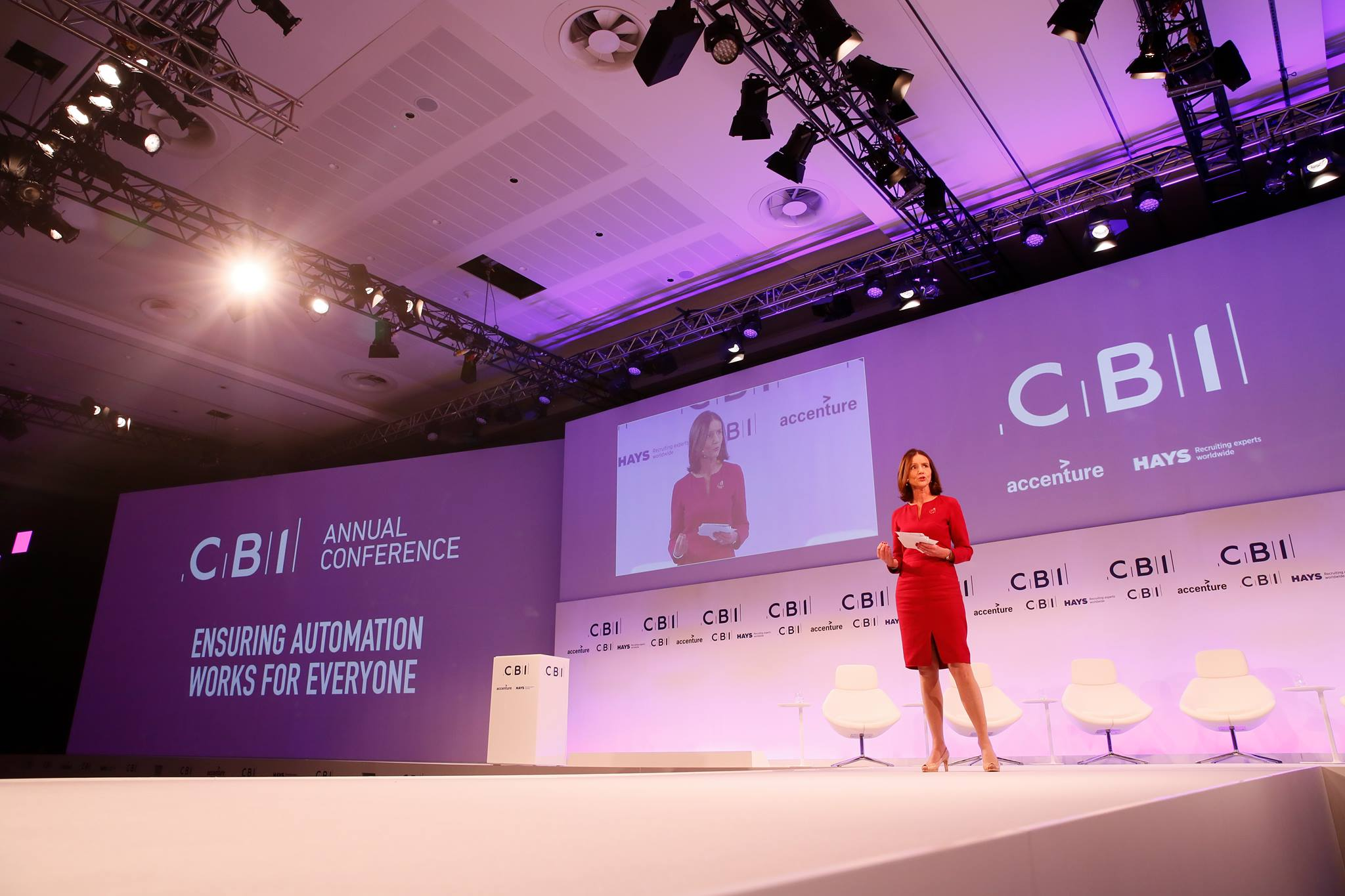 Annual Conference seminar at CBI (Confederation of British Industry) in the UK